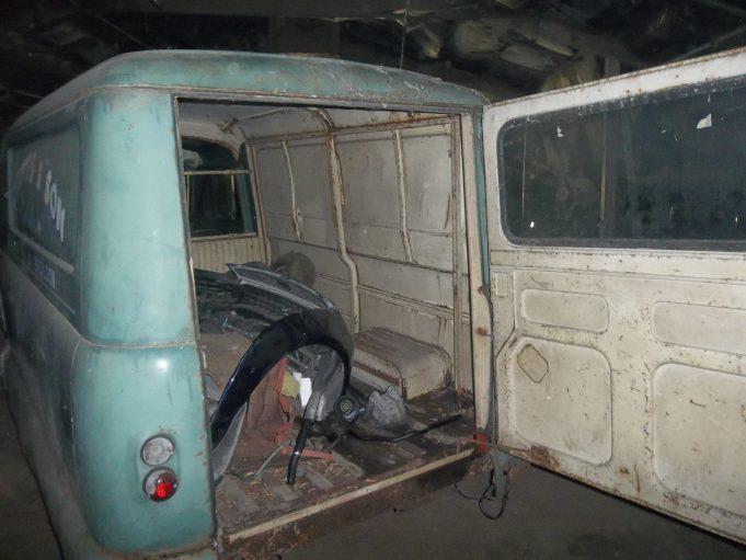 Cottis the Bakers Van