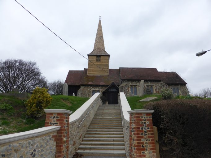 New Tower with weather cock and new steps