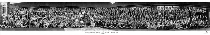 Laindon Secondary School October 1958 | Andrea Ash (née Pinnell)