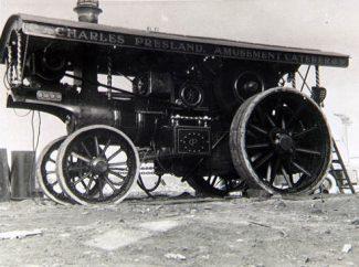 Charles Presland's Steam Engine. The National Fairground Archive. |