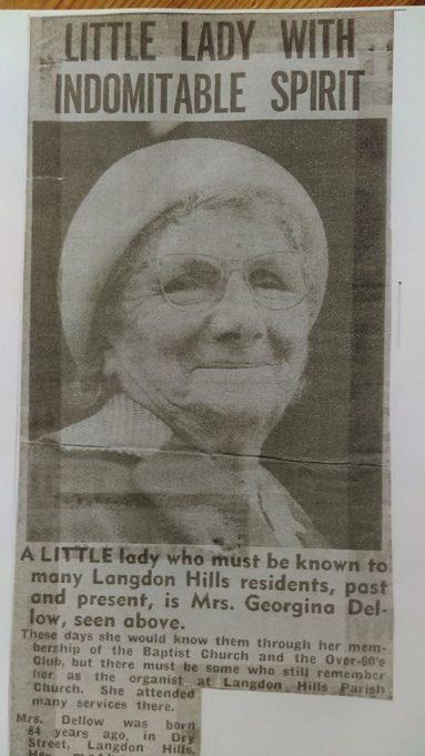 Memories of the Roper Family of Langdon Hills
