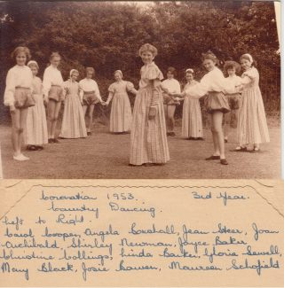 1953 Coronation Country Dancing - 3rd Year | Thanks to Ina Pike
