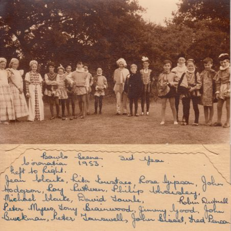 1953 Coronation Bowls scene - 3rd Year | Thanks to Ina Pike