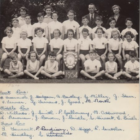 1954 Athletics | Thanks to Ina Pike