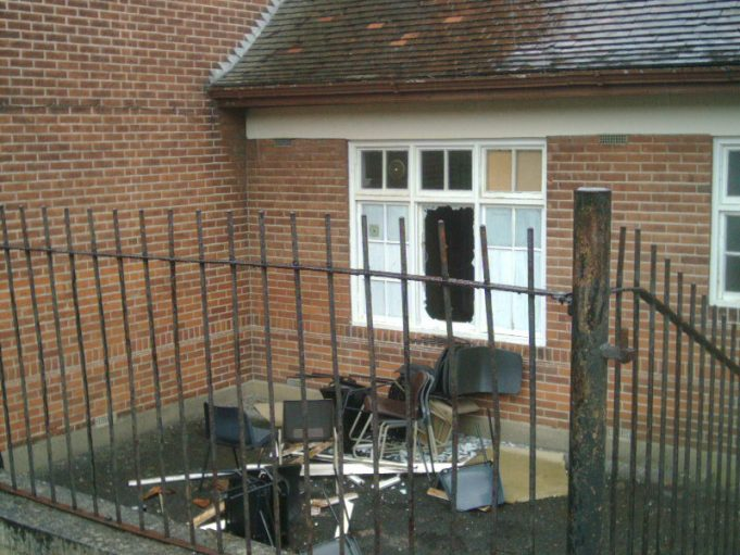 Laindon High Road School - More Photographs of its Destruction