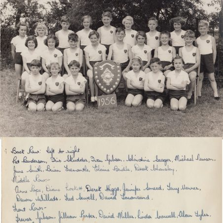 Athletics 1956 | Thanks to Ina Pike