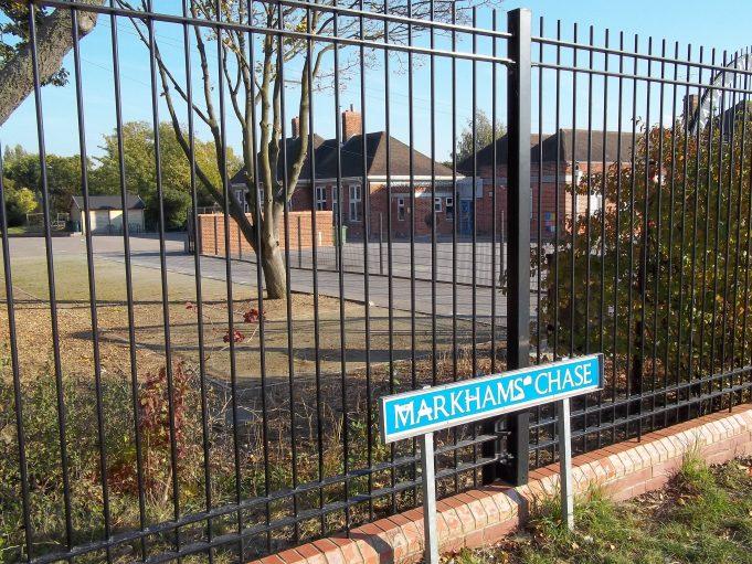 Approaching the school. | Nina Humphrey