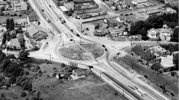 Aerial View of Fortune of War Roundabout | Stan Dyson