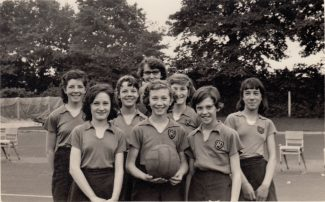 Netball Team (1958?)1960. | Thanks to Ina Pike