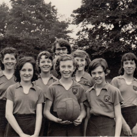 Netball Team (1958?)1960. | Thanks to Ina Pike