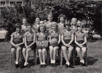 Netball Team 1959 | Thanks to Ina Pike
