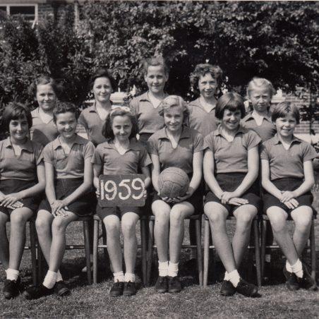 Netball Team 1959 | Thanks to Ina Pike