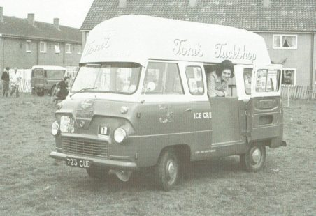 My first ice cream vans 1966