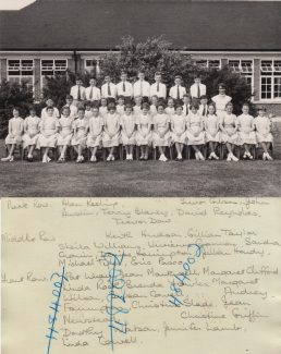 Choir 1959 | Thanks to Ina Pike