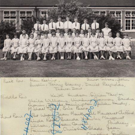 Choir 1959 | Thanks to Ina Pike