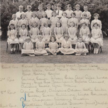 Choir 1960 | Thanks to Ina Pike