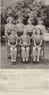 Netball Team 1960 | Thanks to Ina Pike