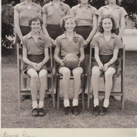 Netball Team 1960 | Thanks to Ina Pike