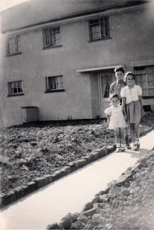 Just moved into Powell Road July 1948 | Patsy Mott (née Tyler)