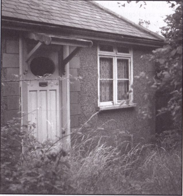 1950s: The last Dunton bungalows - the bulldozers had demolished the estate.