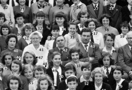 Laindon High Road School 1958