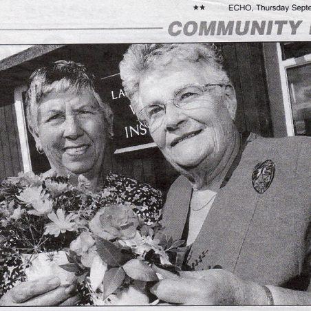 Joyce Taylor and Audrey Clarke | The Basildon Evening Echo