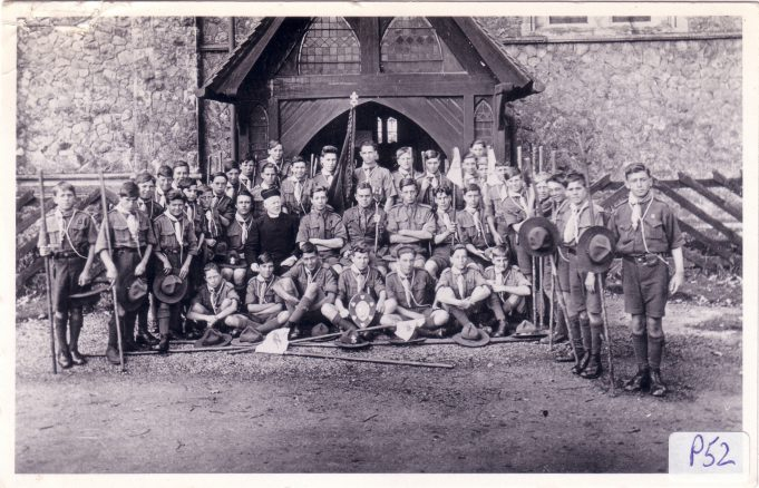 1st Langdon Hills Scouts 1928.  Click on the image to enlarge. | Langdon Hills Conservation Society