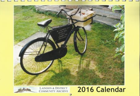 The Laindon Archive's 2016 Calendar