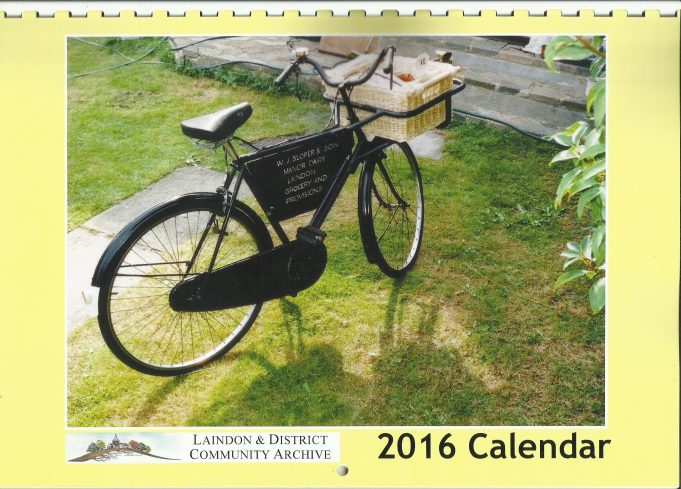 The Laindon Archive's 2016 Calendar