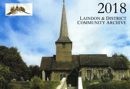 Laindon & District Community Archive Calendar 2018