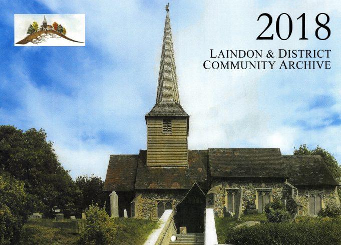 Front Page of The Laindon & District Community Archive's 2018 calendar. | Ken Porter.