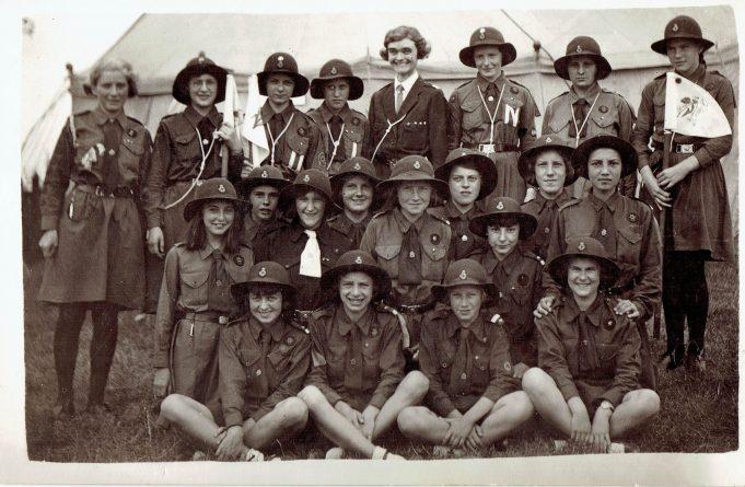 3rd Laindon Guides July 1937.   Vivienne Salmon