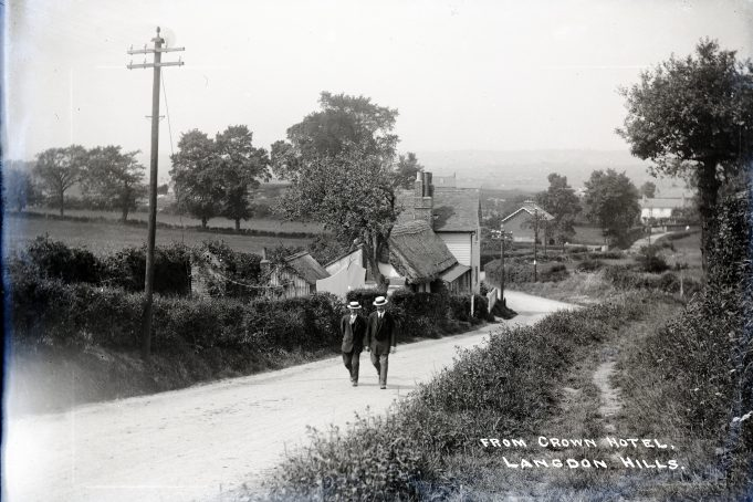 The Post Office. with the Police Houses in the background.   Barry Ellerby