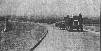 The A127 shortly after it had been opened