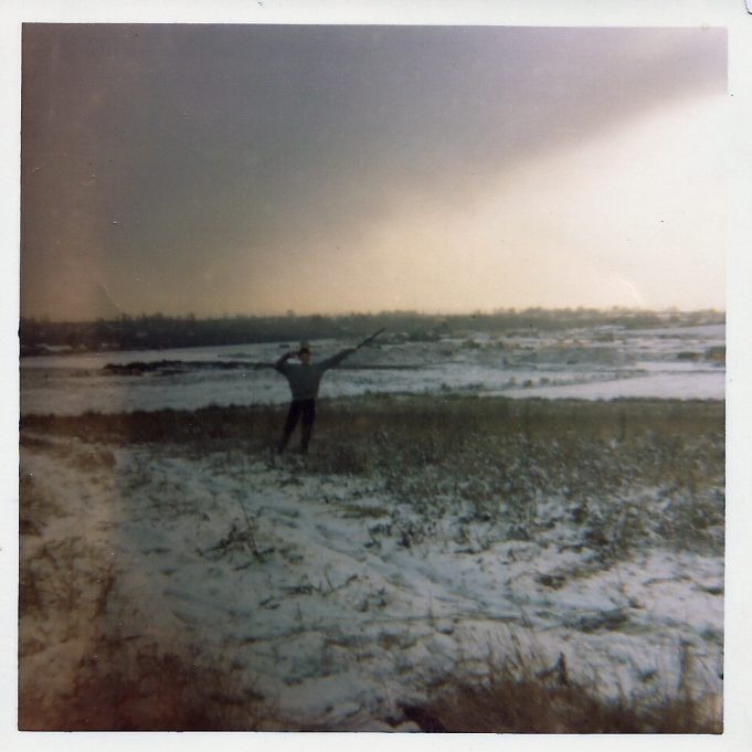 Snaggs field in the snow 1965. | Nina Humphrey