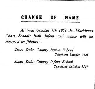 Markhams Chase Story
