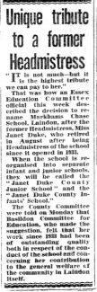 Basildon Standard Friday October 2nd 1964