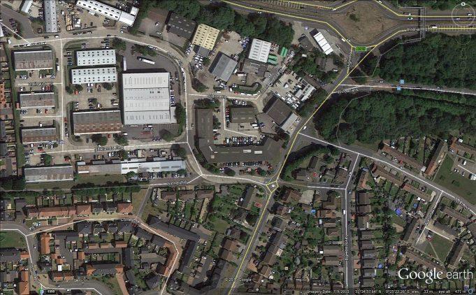 Newlands End | Google Earth