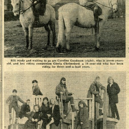 Closure of Longwood & Fobbing Farm Riding Stables | Basildon Recorder 03.02.65.