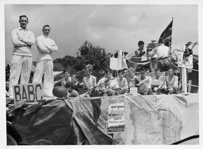 Berry Boys Carnival Float 1951.   Ken Porter