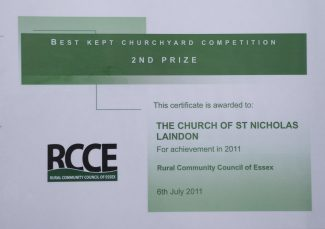 The Best Kept Churchyard Competition | Ken Porter