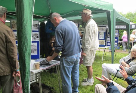 Forties Theme Open Day at Dunton Visitor Centre 2015