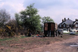Bomb disposal unit on Laindon Common May1982 | Colin Humphrey