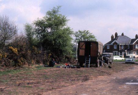 Bomb Disposal on Laindon Common