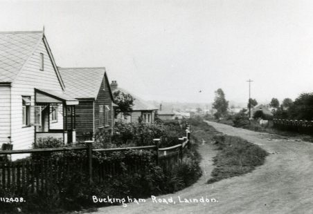 Buckingham Road and Blue House Farm