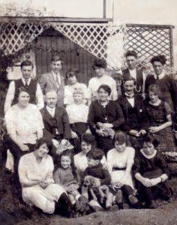 Burton Family at Spion Kop circa 1920 | Nina Humphrey