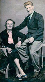 Ethel & George Burton | Marian Parmenter