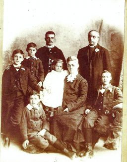 The Reverend Herbert Carpenter and his family