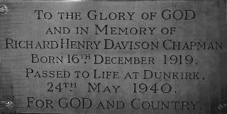 Richard Henry Davison Chapman - Dunkirk Hero