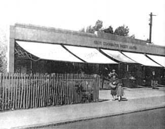 Grays Co-operative Society Limited in Laindon High Road | Nina Humphrey(née Burton)